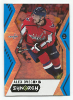 2017-18 Upper Deck Synergy Blue #20 Alex Ovechkin Washington Capitals