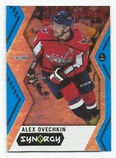 2017-18 Upper Deck Synergy Blue #20 Alex Ovechkin Washington Capitals