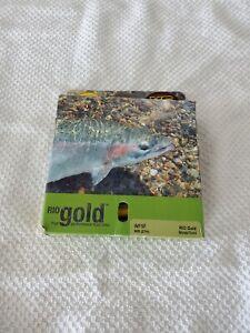 RIO GOLD Elite Fly Line Moss//or//gris-Toutes Tailles-Gratuit Livraison Rapide
