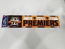Hawthorn Hawks AFL 2015 Premiers Premiership Bumper Sticker