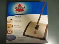 Brand New Bissell Natural Sweep Dual Brush Carpet & Floor Manual Sweeper 92N0A