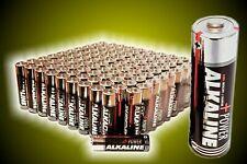 100 x AA  R6 ,Alkaline 2850 mAh  23 g  Haltbar 12/2023 Neu, AA Batterie