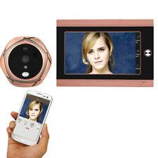 720P WiFi Wireless Digital Peephole Door Viewer 7inch Front Video Door Peephole