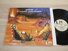 KROKODIL LP - AN INVISIBLE WORLD REVEALED / 1971 GERMAN KRAUTROCK PRESS in MINT-