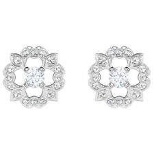 Swarovski Sparkling Dance Flower Pierced Earrings 5396227