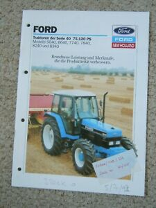 @ Ford 40 Series Tractor Brochure (In German)@