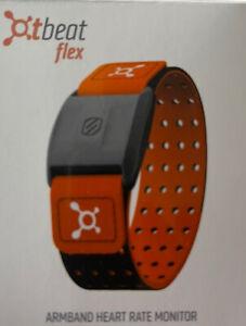 TWO Orange Theory Fitness Scosche OT Beat Flex heart rate monitor Used