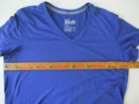 Womens Size XL Nike Fit Dri-Fit Blue Top Activewear