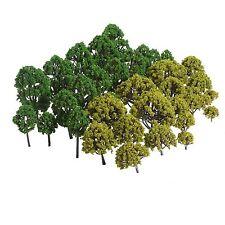 40Pcs Multi Scale Model Trees Park Train Scenery Sand Table Scene HO N Z Layout