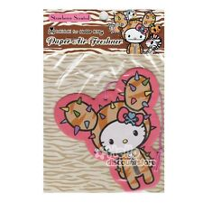 Sanrio Hello Kitty Tokidoki Paper Car Air Freshener : Strawberry Scented