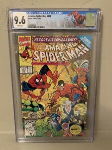 The Amazing Spider-Man #343 CGC 9.6 Limited NY City Label Erik Larsen