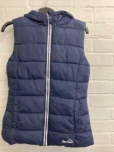 Ladies Peter Storm  Navy Cosy Gilet Size 10