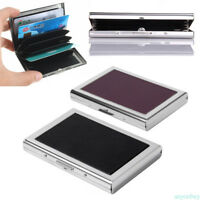 ID Credit Card Wallet Holder Pocket Case Waterproof Stainless Steel Business
