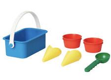 Ikea Sandig 10 Piece Sand Toy Ice Cream Set & 5 Piece Sand Baking Set New
