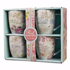 New listing Mug Set-Floral Inspirations (Set Of 4)
