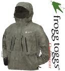 FROGG TOGGS RAIN GEAR-TT6405-05 MENS TEKK TOAD STONE JACKET FLY FISHING NEOPRENE