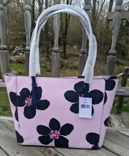 🌺 KATE SPADE Medium Tote Flora Shoulder Bag Floral Purse Serendipity Pink - NWT