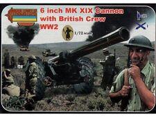 Strelets - 6 inch MK XIX Cannon with British crew WW2 - 1:72