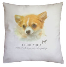 Chihuahua Dog | 100% Cotton Cushion Cover with Zip | Howard Robinson | Gift
