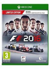 Formula 1 2016 Limited Edition XBOXONE NUOVO UK