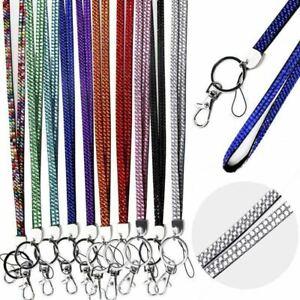 Lanyard Rhinestone Neck Strap ID - Perfect for teachers, nurses, party or  work