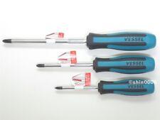 Vessel Megadora 900 P1x75 P2x100 P3x150 JIS Cross Point Screwdriver Set Japan