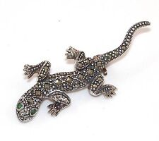Marcasite Gemstone Costume Brooches and Pins