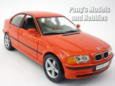 BMW 328i 1998 1/24 Scale Diecast Metal Model by Welly - RED