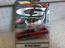 HOT WHEELS G MACHINES NEW EDITIONS '69 ROAD RUNNER 1:50