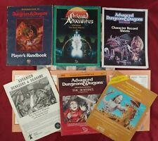 Advanced Dungeons and Dragons Books Lot