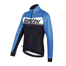 Ropa de ciclismo negro Santini talla S