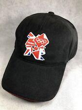 London 2012 Olympic Games Black Hat Cap Adjustable
