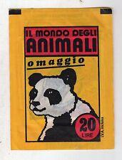 bustina figurine packet pochette  - IL MONDO DEGLI ANIMALI