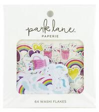 Park Lane Washi Flakes 64/Pkg-Unicorn 15965007 NEW