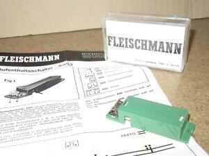 169Q Fleischmann 6953 Germany Dispositif Stop Ho 1:87 +Box