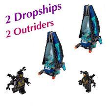 LEGO Avengers Infinity War BATTLE PACK LOT - Dropship & Outrider Minifigure X 2