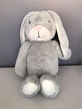 "Hallmark Henley Baby Bunny Rabbit Plush 16"" Soft Gray Stuffed Animal Easter"