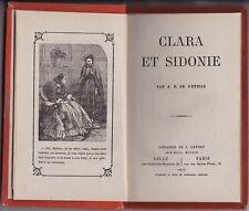 CLARA ET SIDONIE  A.E. DE L ETOILE   1877