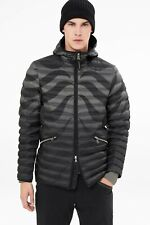 $750! NWT Bogner Men's Lennox-D Goose Down Jacket - Black Ombre - L