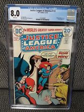 Justice League of America #109, CGC, 8.0/VF, Hawkman Quits the JLA