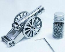 Mini Napoleon Cannon Metal Naval Artillery Stainless Model Kits Crossbow