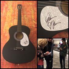 GFA Karen & Kimberly * LITTLE BIG TOWN * Band Signed Acoustic Guitar PROOF B COA