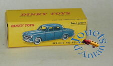 Boite neuve pour Dinky Toys Peugeot 403 N° 521