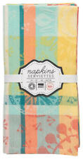 Now Designs, Prisma Jacquard Napkins, Set of 4, New with Tags, Free Shipping