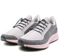 Nike Women's Air Zoom Pegasus 35 Shield Running Shoes Gray Pink AA1644-004 NEW