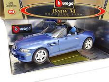 Burago 1/18 - BMW Z3 M Roadster Blue