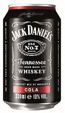(8,83€/L) 24 x Jack Daniels Cola 10% 0,33l Dose inkl. 6,00€ Pfand