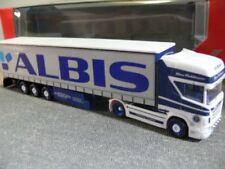 1/87 Herpa Scania R TL Gardinenplanen-SZ ALBIS / Pohlmann 305648