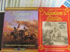 Napoleon Battles Rules & Module 1 Complete Unpunched Five Forks / Avalon Hill