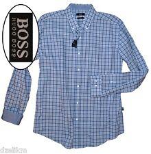 NWT Hugo Boss Black Label By Hugo Boss Slim Fit Check Shirt Size XXL